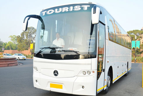 41 Seater Mercedes Benz Coach With Washroom